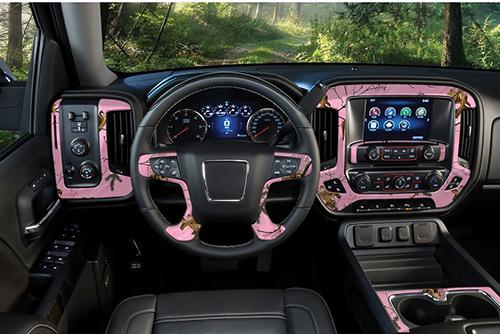 """Auto Interior Skin Realtree Xtra Pink 12""""x24"""""""