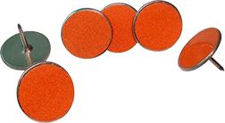 Orange Trail Markers